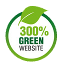 PASE Corps website is power by 300% renewable energy